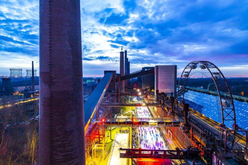 Zollverein-Eisbahn eröffnet