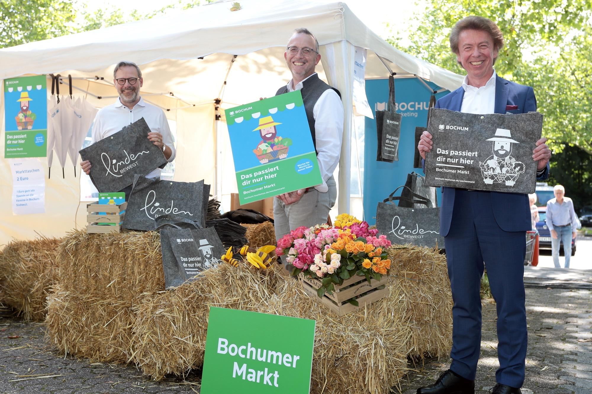 Wochenmärkte in Bochum: Neuer Markt in Linden birgt viel Potential